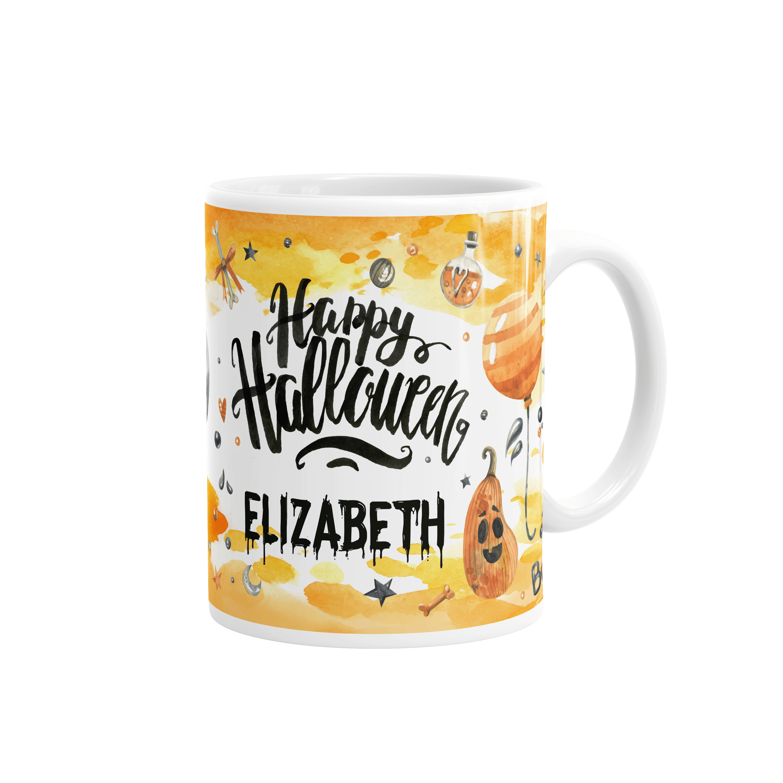 personalised halloween mug – merrrch