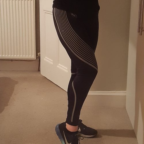 Black Performance GA Reflective Leggings photo review
